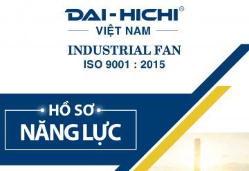 Thiết kế bộ nhận diện thương hiệu Quạt Công Nghiệp - Dai Hichi