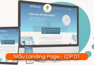 Demo Mẫu Landing Page LDP-01