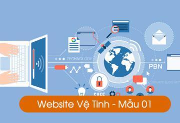 Demo Website Vệ Tinh - Mẫu 01