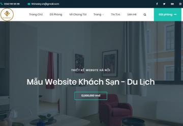 Demo Website Khách Sạn Du Lịch - Mẫu 1