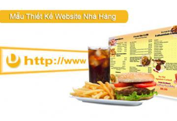 Demo Mẫu Website Nhà Hàng