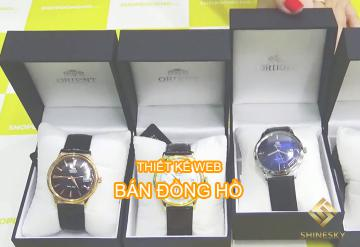 Demo Mẫu Website Bán Đồng Hồ