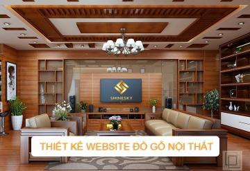 Demo Mẫu Website Bán Đồ Gỗ Nội Thất