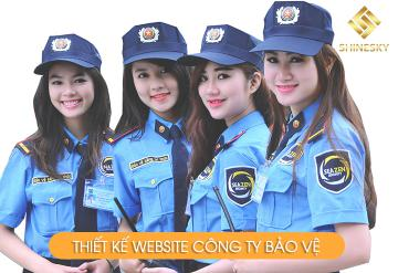 Demo Mẫu Website Công Ty Bảo Vệ